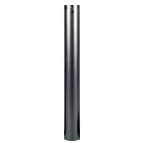 BERTRAMS 011410 Straight Chimney Pipe 100 cm Noir