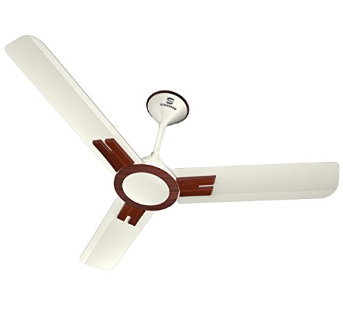 Standard Dasher Prime 1200mm Ceiling Fan (Pearl White Wood)
