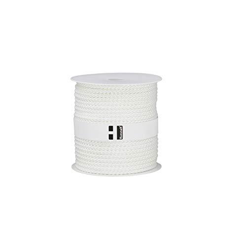Hummelt® SilverLine-Rope Universalseil Polyesterseil 6mm 50m weiß auf Rolle