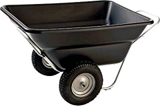Smart Carts Contractor Grade Cart44; 12 Cu. Ft. Tub44; with 16 in. Heavy Duty Turf Wheels44; Green