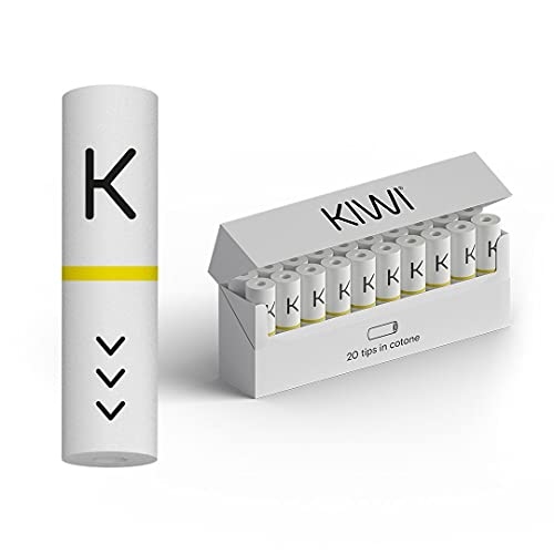 KIWI Sigaretta Elettronica filtro in cotone - Ufficiale KIWI - 40 pezzi