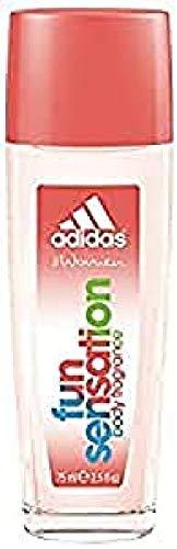Adidas Fragrance Fun Sensations Eau de Parfum Spray, 2.5 Fluid Ounce