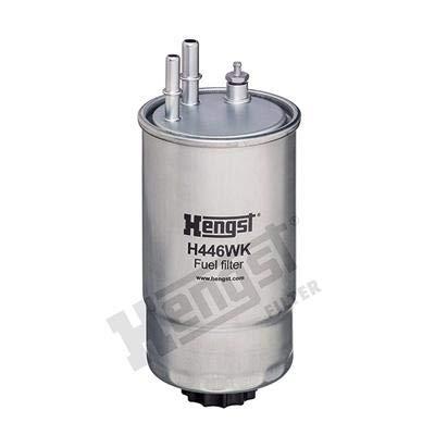 HENGST FILTER H446WK Kraftstofffilter Diesel Filter, Spritfilter, Leitungsfilter