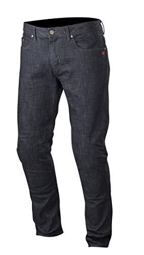 Alpinestars Honda Copper Denim - Pantalones Vaqueros para Moto, Color Azul Oscuro 36