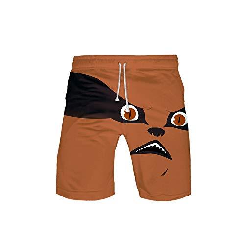 Unisex Hombres Mujeres Anime Beach Shorts Swim Trunks Print Summer Board Short Pants Naruto 3D-S