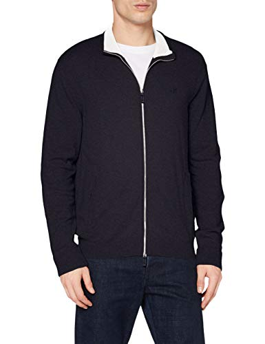 ARMANI EXCHANGE 8nze73 Cardigan, Blu (Navy 1510), X-Small Uomo