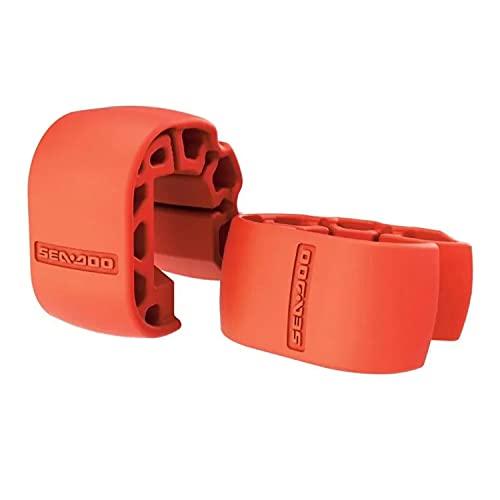Sea-Doo New OEM, High-Visibility Orange Snap-In Fenders Sold In Pairs, 295100418