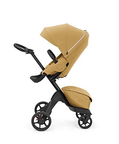 Stokke Xplory X Stroller - Multifunktions-Kinderwagen mit schützenden, ergonomischen Sitz - Farbe: Golden Yellow