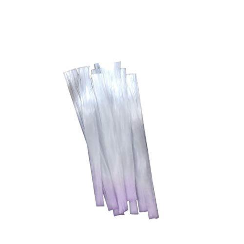 Fibernails Fiber Glass to Acrylic Nail Salon Fiberglass Nail for Extension 2PCS, Nail Art, Products for Xmas Day (A)