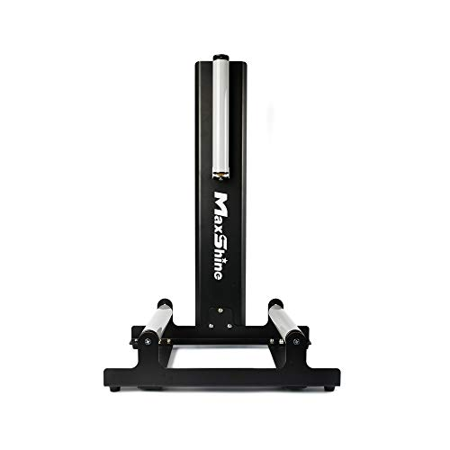 Maxshine Deep Cleaning Wheel Stand Tire Roller Stand for Wheel Coating and Polishing