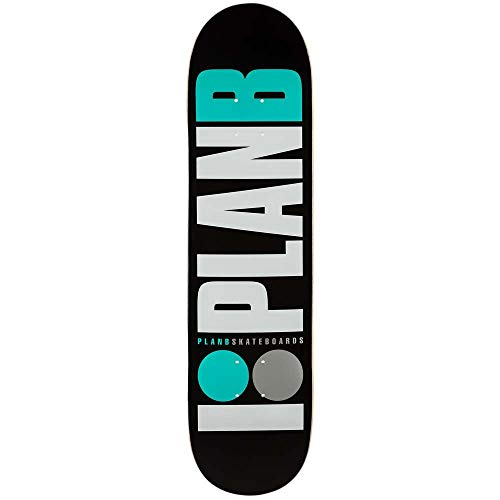 Plan B Skateboards Team OG Neon - Tavola da skateboard, colore: Nero