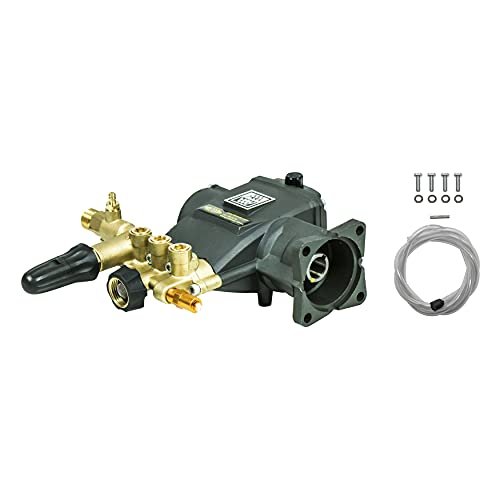 AAA Pumps 90036 Horizontal Triplex Plunger Replacement Pressure Washer Pump Kit, 3200 PSI, 2.8 GPM, 3/4
