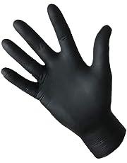 Source hygiënische handschoenen, nitril, poedervrij, zwart, 4,8 g, 240 mm, 100 stuks