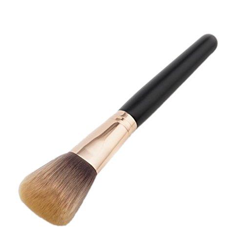 Toygogo Foundation Makeup Brush Flat Top Pour Le Maquillage Des Visages, Polissage Cosmétique En Poudre, En Correcteur Ou En Poudre - Qualité Supérieure