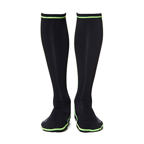 WETSOX Therms Round Toe Wetsuit Socks,1mm Neoprene for Extra Warmth
