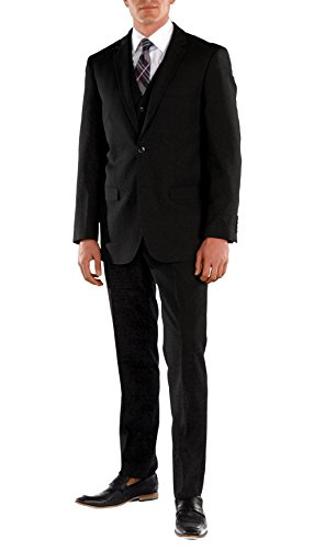 Ferrecci Men's Suits - Men Suits Slim Fit Oslo 2 Piece Suit (Indigo, 42 Long)