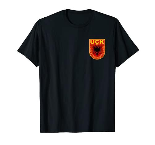 kosovarische Armee shirt logo Wappen albaner kosovo uqk uck
