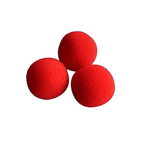 Distinct® Close-Up Magie comédie Classique Astuce éponge Rouge Ball Pack de10