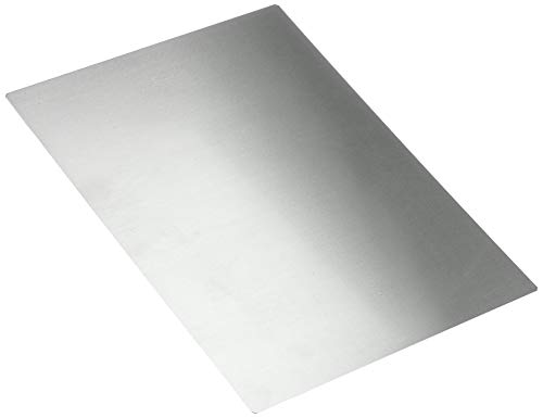 Städter Unterlage, Metall, grau, 43 x 32 cm
