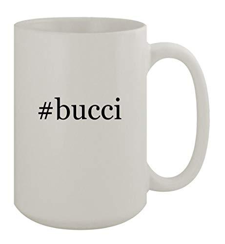 #bucci - 15oz Ceramic White Coffee Mug, White