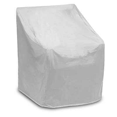 "Protective Covers Weatherproof Wicker Chair Cover, Regular, Gray, 35"" W x 35"" D x 35"" H - 1123"