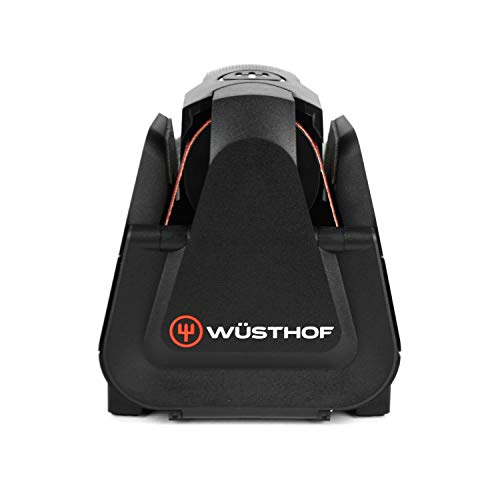 Wusthof Electric Knife Sharpener – Easy Edge Sharpener for Kitchen Knives – Black