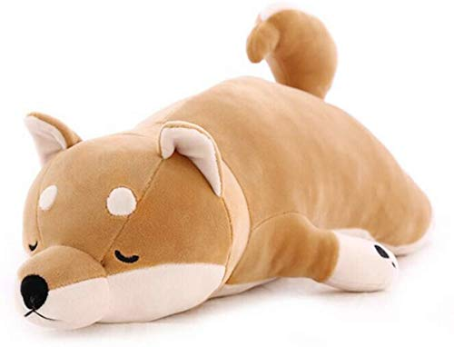 30'' Shiba Inu Plush Stuffed Animal Dog Plush Pillow Hugging Pillow Sleeping Comfort Cushion Soft Plush Toy