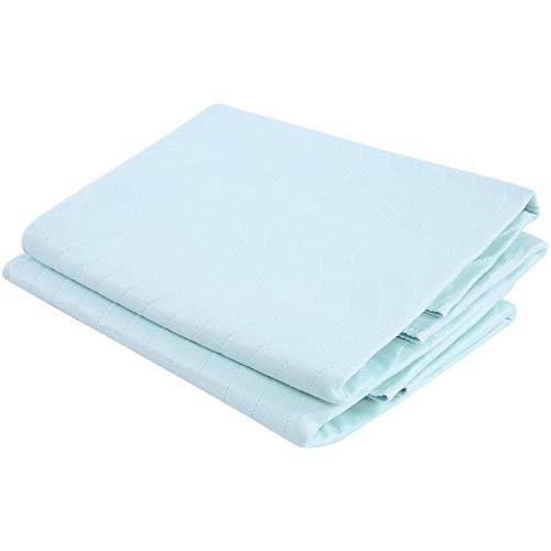 Almohadilla reutilizable lavable Protector de colchón impermeable y transpirable Sábanas absorbentes Colchoneta para saúco de orina Colchoneta antideslizante para dormir Protector de cama, almohadill
