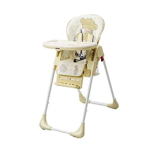 NMDD Trona, Silla de Comedor para niños, Mesa y sillas de Comedor multifunción, sillón reclinable Plegable