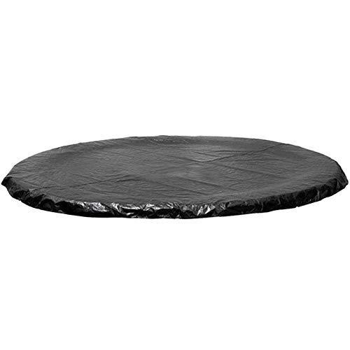 6/8/10/12/13/14/15/16 pies Cubierta Trampolines Resistente a los Rayos UV, Negra Cubierta Protectora Trampolín Redonda Resistente al Desgaste a Prueba de lluvia Protección Contra la lluvia,10ft/3.05m