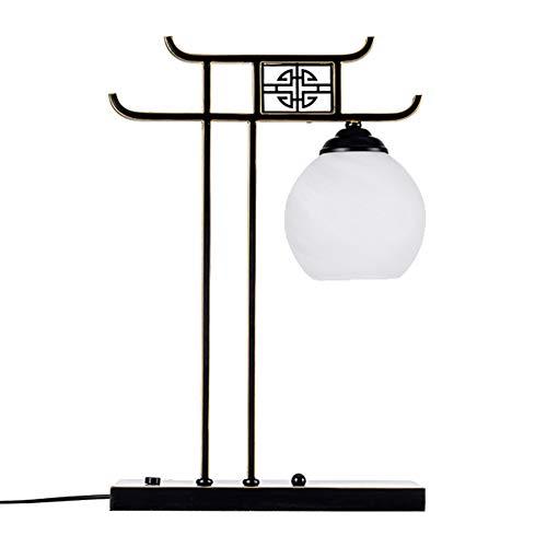 KOKOF Lámpara de pie creativa, lámpara de pie, nueva lámpara de estilo chino, salón, noche, simple, moderna, retro, estantería de libros, dormitorio, creativa lámpara de mesa vertical E27-tablelamp