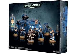 Warhammer 40.000 40K: SPACE MARINE RECLUSIAM COMMAND SQUAD. Miniature da Dipingere Games Workshop