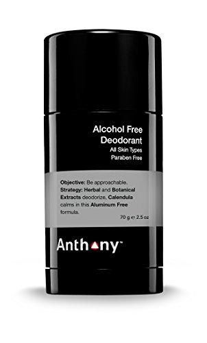 1. Anthony deodorante senza alcool