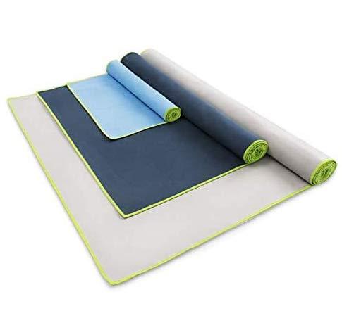 HBselect 3-er Mikrofaser Handtücherklein & groß Set leicht Ultra saugfähig Sporthandtuch Reisehandtuch Badetuch Strandhandtuch Sauna Badehandtuch3 Separate Reißverschluss-Taschen