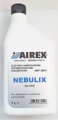 OLIO PER LUBRIFICAZIONE APPARECCHIATURE PNEUMATICHE LT 1 NEBULIX ISO 32VG AIREX