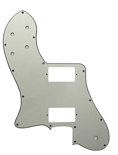 Golpeador de guitarra personalizado para US 72 Telecaster Standard Humbucker Style, 3 capas verde menta.