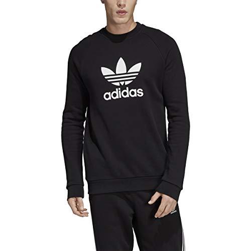adidas Originals T-shirt à manches longues pour homme à 3 bandes (noir/blanc/noir, taille XL)