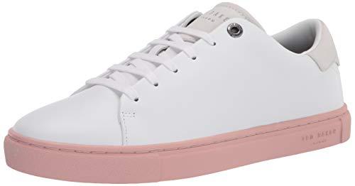 Ted Baker mens Darall Sneaker, Dusky-pink, 8 US