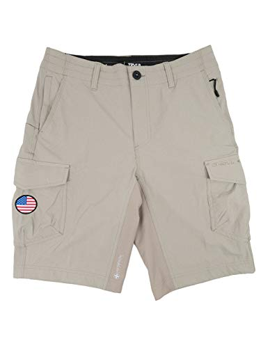 O'NEILL GI Jack Traveler 3 Hybrid Boardshorts 36 Light Khaki (SP918A102Q)