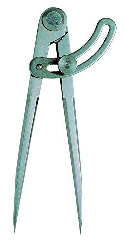 MIB Spitz- + Bogen-Zirkel mit Nietscharnier DIN 6486 alle Größen zur AUSWAHL: 300 mm; Bogen