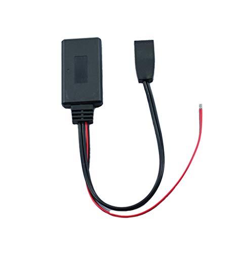 VUWMMNV for BMW E46CD Bluetooth 5.0 Bluetooth Adapter BMW Audio Cable Adapter Audio Bluetooth Adapter 10 pin Bluetooth Adapter