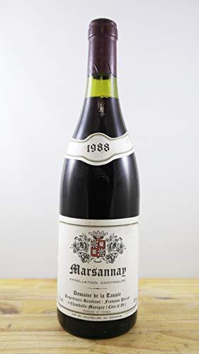 Wein Jahrgang 1988 Marsannay Domaine de la Tassée Flasche