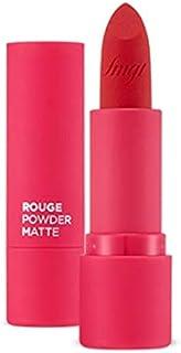 The Face Shop Rouge Powder Matte Lipstick, 06 Plum Powder, 1 ml