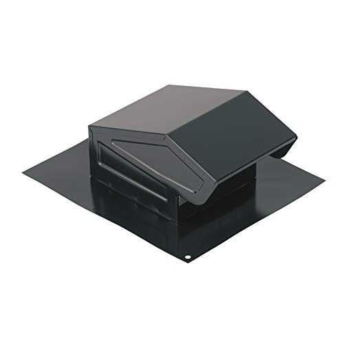 Broan-NuTone 636 Roof Vent Cap Only, Black