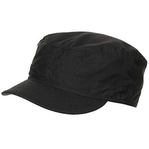 MFH BDU Ripstop Field Cap Black Size S