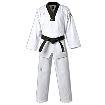 MOOTO MTX Basic S2 Taekwondo DAN Uniform Belt WTF New Emblem Mark TKD Martial Arts  140  Height 4.26~4.59ft   130~140cm
