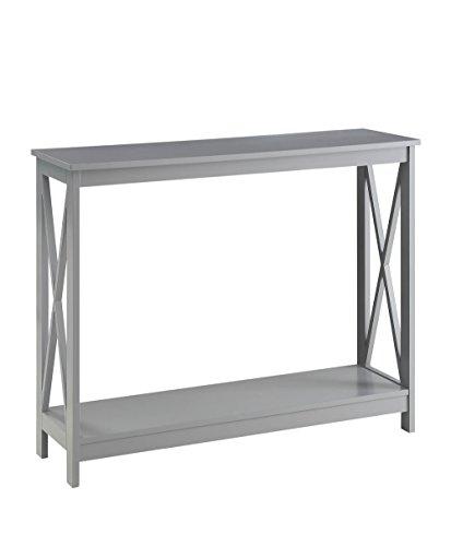 Convenience Concepts Oxford Console Table, Gray