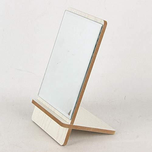 breaxme 20 * 15cm Flugzeug Make-up Spiegel Desktop-Spiegel Make-up Spiegel für Badezimmer geeignet