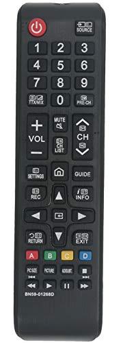 ALLIMITY BN59-01268D Telecomando Sostituito per Samsung TV QE65Q8 QE75Q8 QE88Q9 UE32M5002 UE32M5500 UE32M5520 UE32M5522 UE32M5525 UE32M5590 UE32M5600 UE32M5620 UE32M5690 UE40MU6100