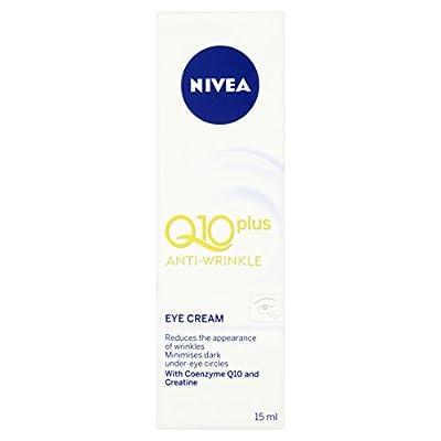 Nivea Q10 Plus Eye Cream, Anti-Wrinkle, 15 ml Tube by Beivz